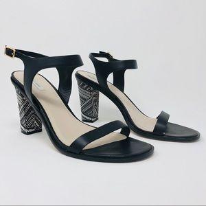 Cole Haan 'Cambon' Leather Heel Sandals